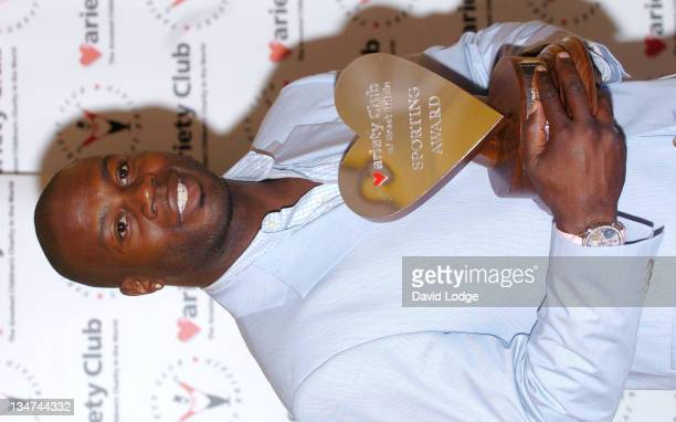 Martin Offiah MBE during 23rd Annual Variety Club Sporting Awards at Park Lane Hilton Hotel in London Great Britain