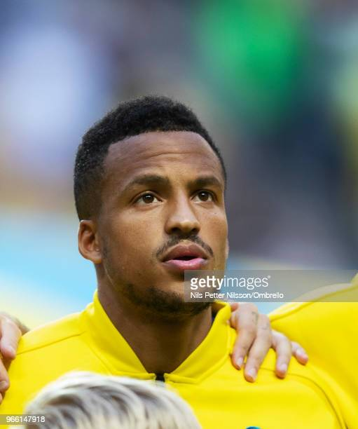 Martin Olsson of Sweden ahead of the International Friendly match between Sweden and Denmark at Friends Arena on June 2 2018 in Solna Sweden