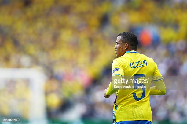 Martin Olsson of Sweden looks on during the UEFA EURO 2016 Group E match between Italy and Sweden at Stadium Municipal on June 17 2016 in Toulouse...