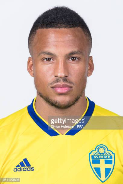 Martin Olsson of Sweden poses during the official FIFA World Cup 2018 portrait session on June 13 2018 in Gelendzhik Russia