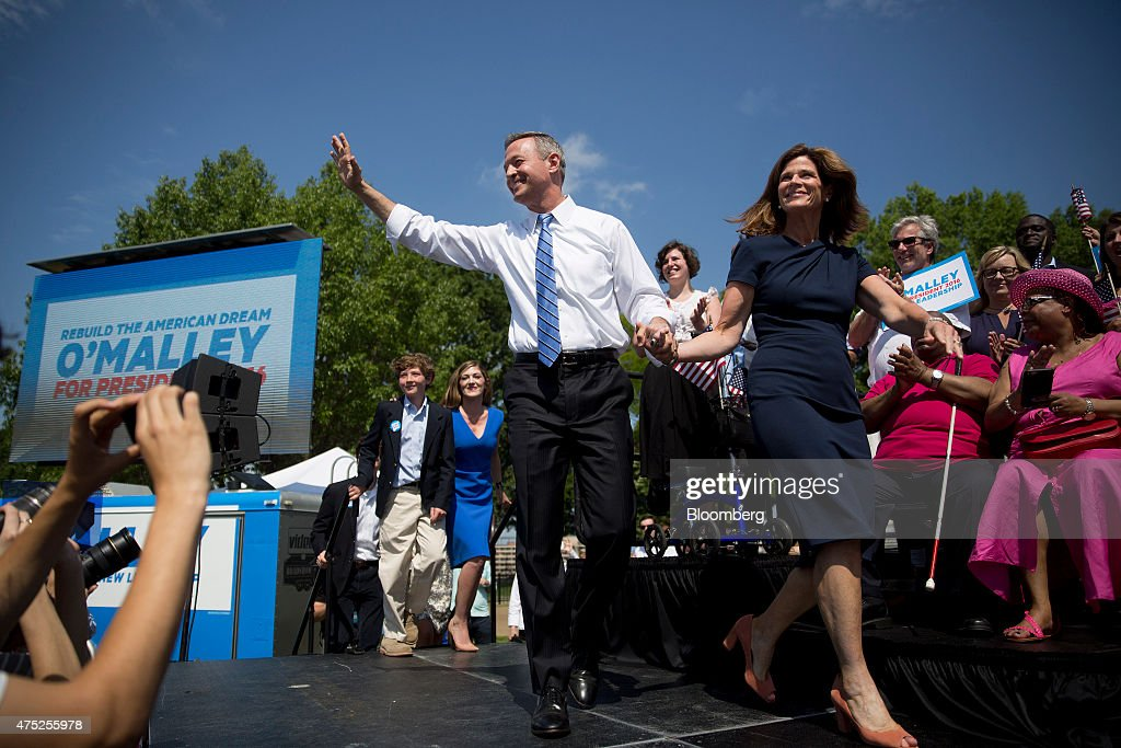 Former Maryland Governor Martin O'Malley Makes Presidential Announcement : News Photo