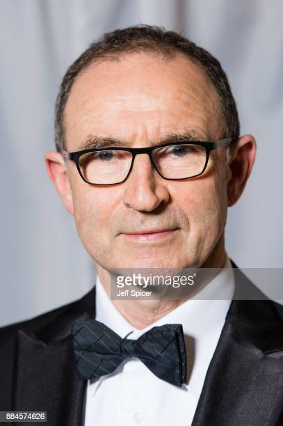 Martin O'Neill attends The Ireland Funds Annual Winter Ball at The Globe Theatre on December 2 2017 in London England