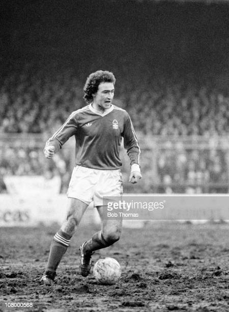 Martin O'Neill in action for Nottingham Forest during their First Division match against Bristol City at the City Ground in Nottingham, 24th February...