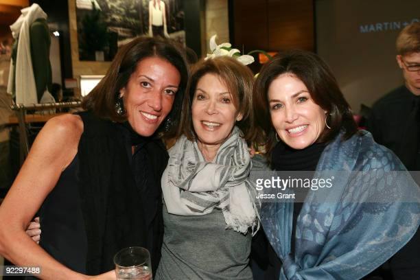 Martin Osa President Laura Dubin Wander Marion Laurie and Debbie Gruber attend a private shopping event in support of cancer research at Martin Osa...