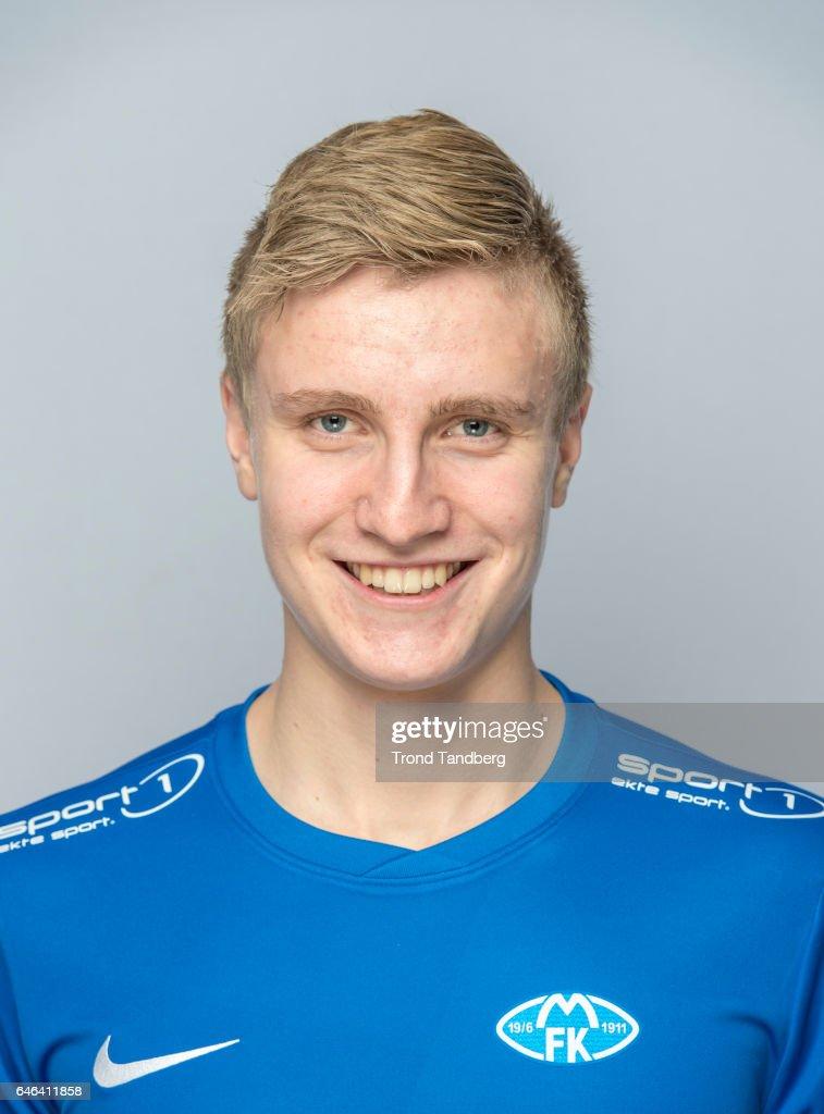 Martin Ove Roseth of Team Molde FK Photocall on February 21, 2017 in Molde, Norway.