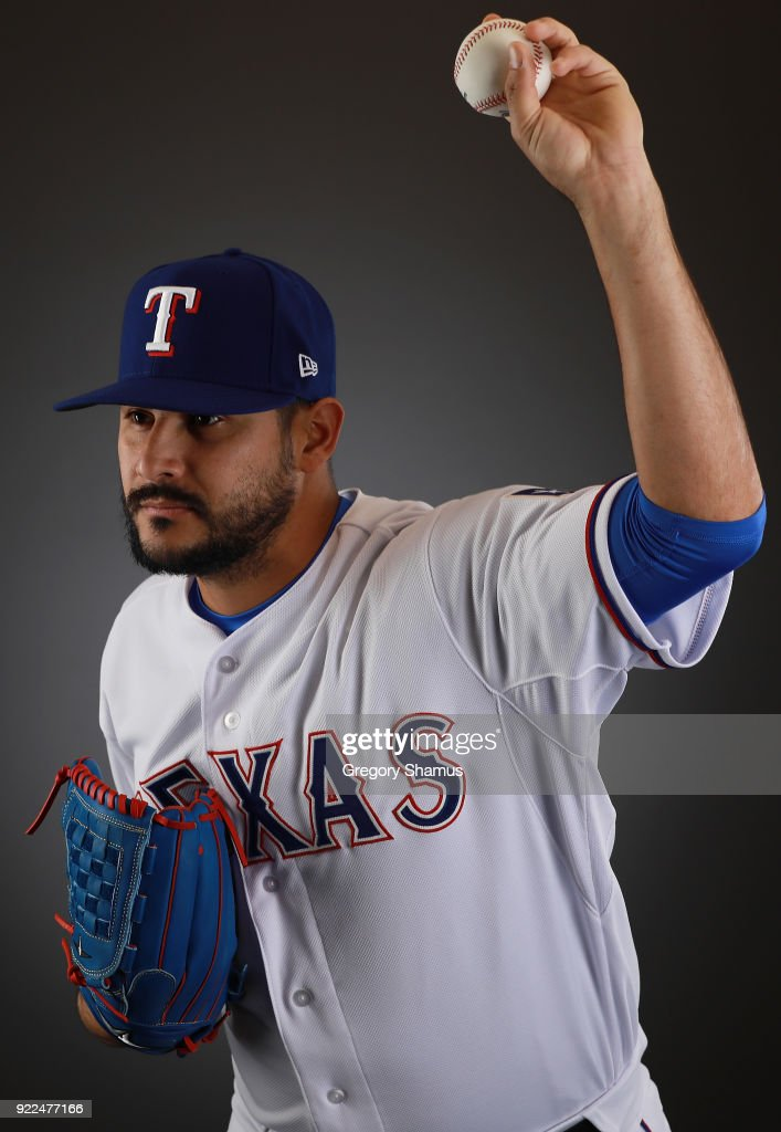 Texas Rangers Photo Day : Nachrichtenfoto