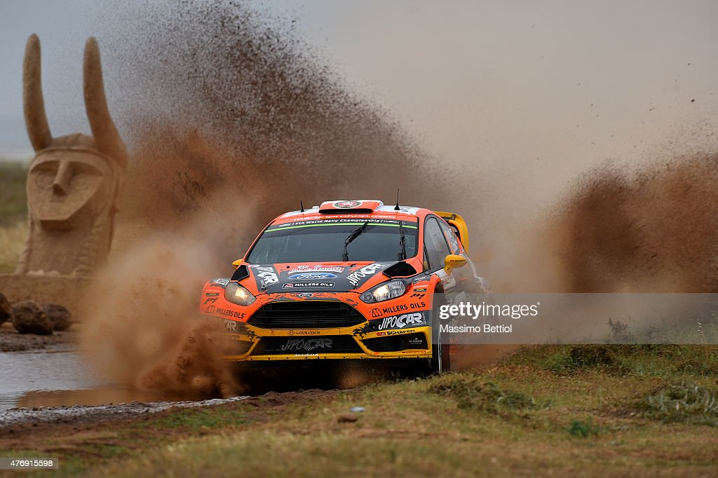 Martin Prokop of Czech Republich and Jan Tomanek of Czech Republich compete in their Jipocar Czech National Team Ford Fiesta RS WRC during Day One of the WRC Italia Sardinia on June 12, 2015 in Alghero, Italy.