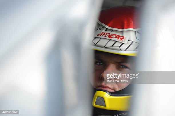 Martin Prokop of Czech Republich during the Shakedown of the WRC Finland on July 31 2014 in Jyvaskyla Finland