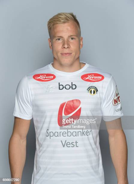 Martin Ramsland of Team Sogndal Fotball during Photocall on March 22 2017 in Sogndal Norway