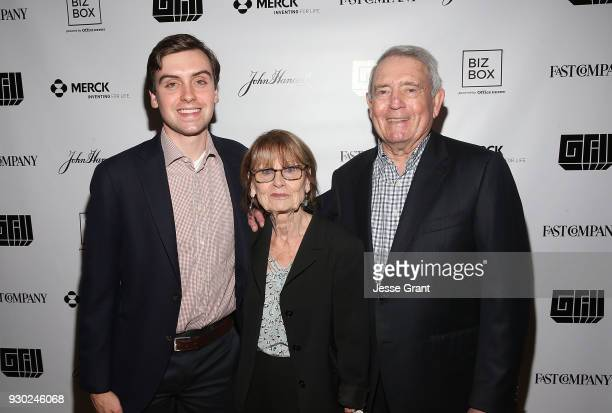 Martin Rather Jean Goebel and Dan Rather attend the 8th annual Fast Company Grill during SXSW on March 10 2018 in Austin Texas