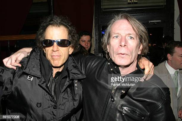 Martin Rev and Legs McNeil attend Reception for the Premiere of 'Punk: Attitude' at the Tribeca Film Festival at CBGB - 313 Gallery on April 25, 2005...
