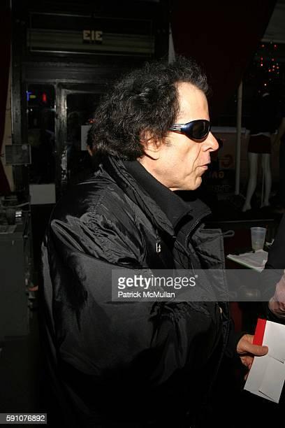 Martin Rev attends Reception for the Premiere of 'Punk: Attitude' at the Tribeca Film Festival at CBGB - 313 Gallery on April 25, 2005 in New York...
