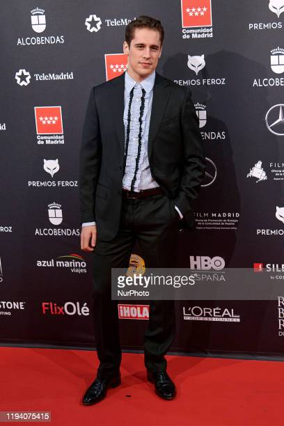 Martin Rivas attends the 'FEROZ' awards 2020 Red Carpet photocall at Teatro Auditorio Ciudad de Alcobendas in Madrid Spain on Jan 16 2020