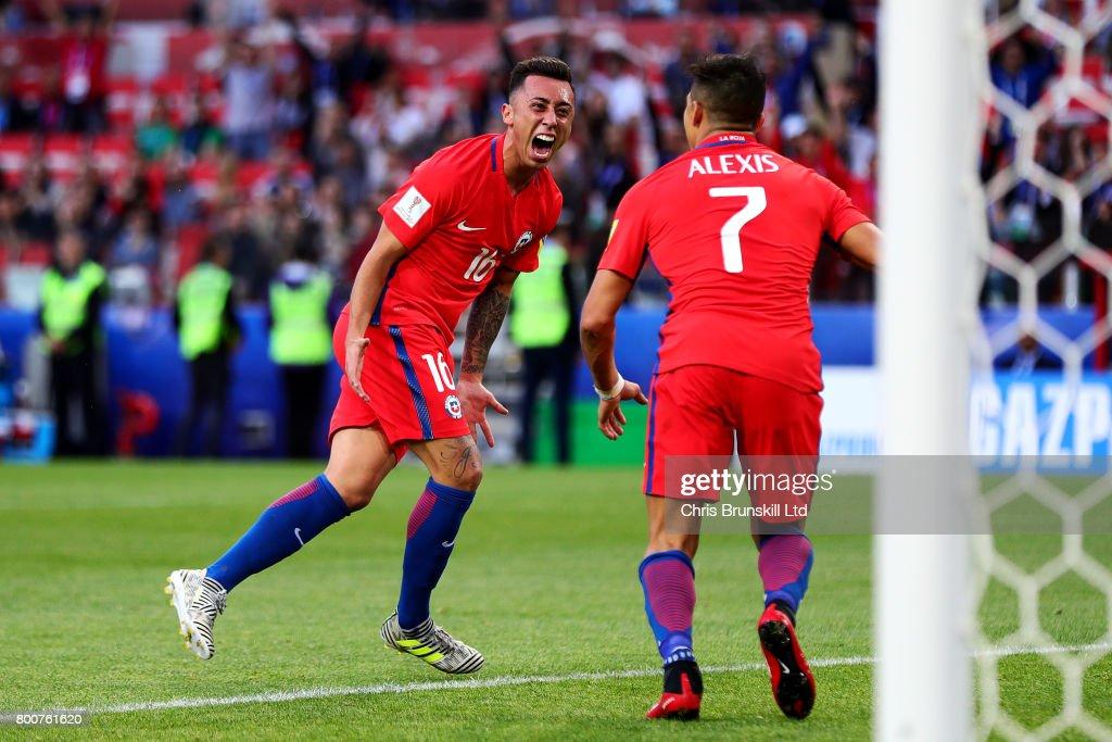 Chile v Australia: Group B - FIFA Confederations Cup Russia 2017 : News Photo