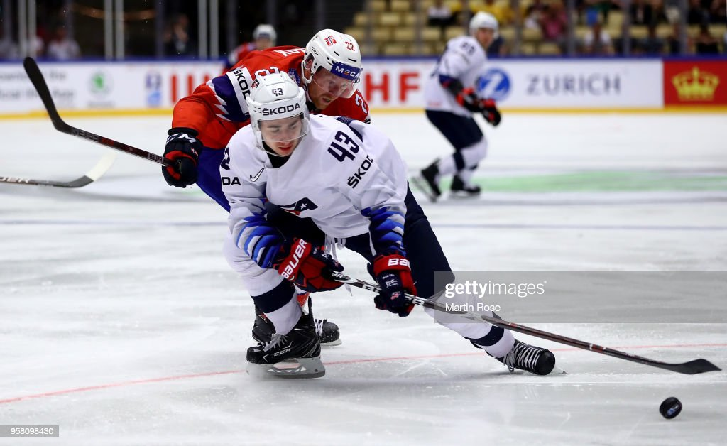Norway v United States - 2018 IIHF Ice Hockey World Championship : News Photo