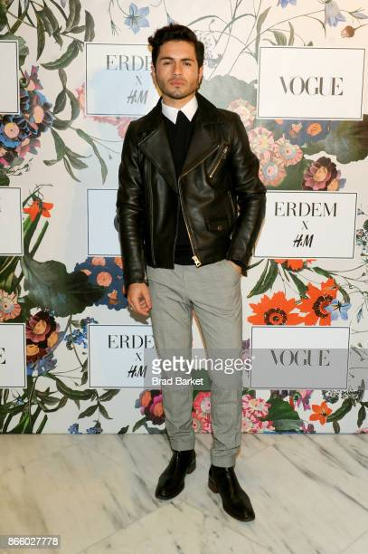 Martin Salomon Jr attends the ERDEM X HM Exclusive Event at HM Flagship Fifth Avenue Store on October 24 2017 in New York City