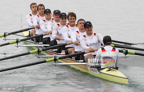 Martin Sauer, Richard Schmidt, Toni Seifert, Lukas Mueller, Sebastian Schmidt, Florian Mennigen, Kristof Wilke, Maximilian Reinelt and Gregor Hauffe...