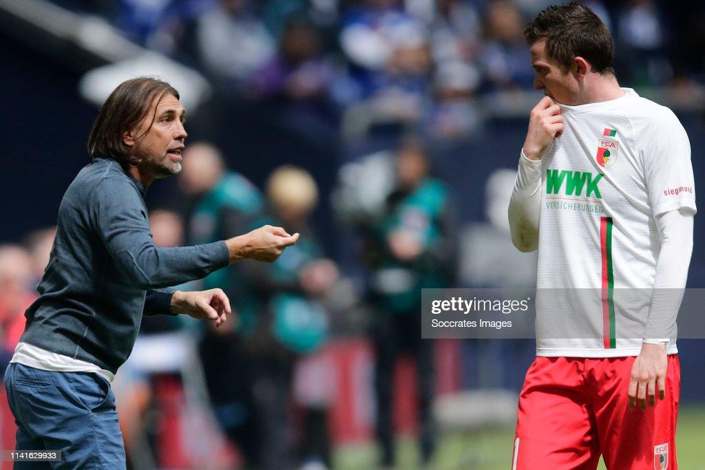 Schalke 04 v FC Augsburg - German Bundesliga : News Photo