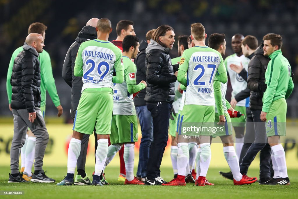 Borussia Dortmund v VfL Wolfsburg - Bundesliga