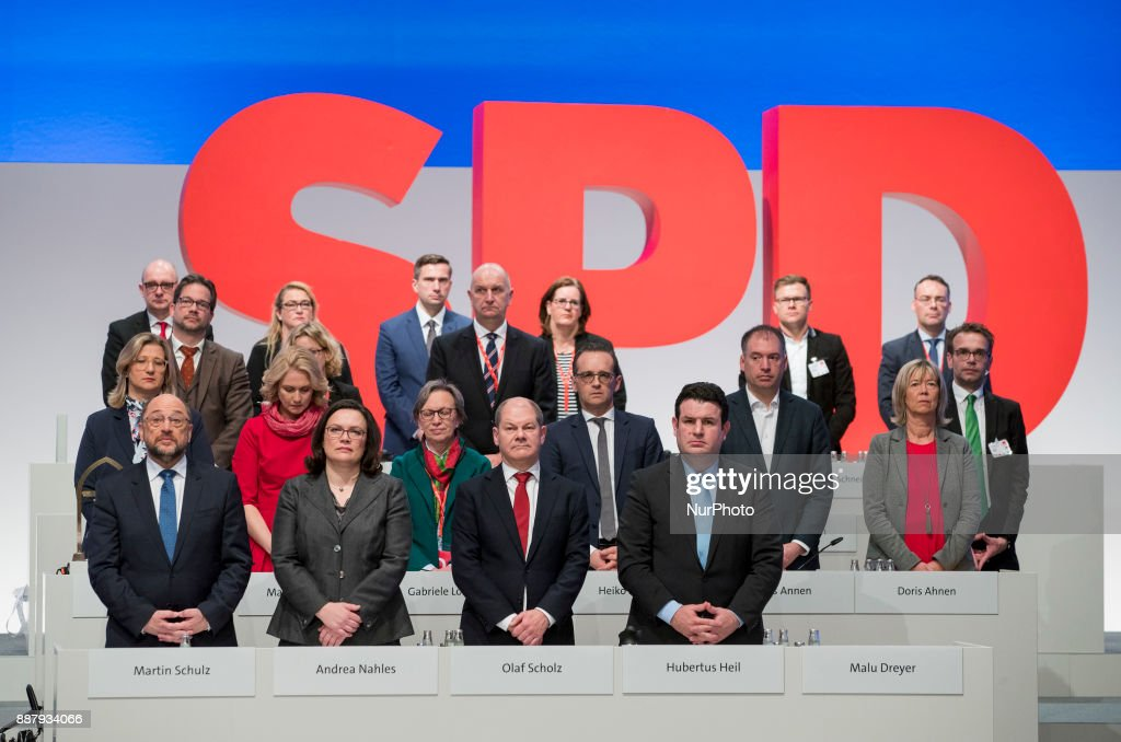 German Social Democratic Party holds party congress in Berlin : Nachrichtenfoto