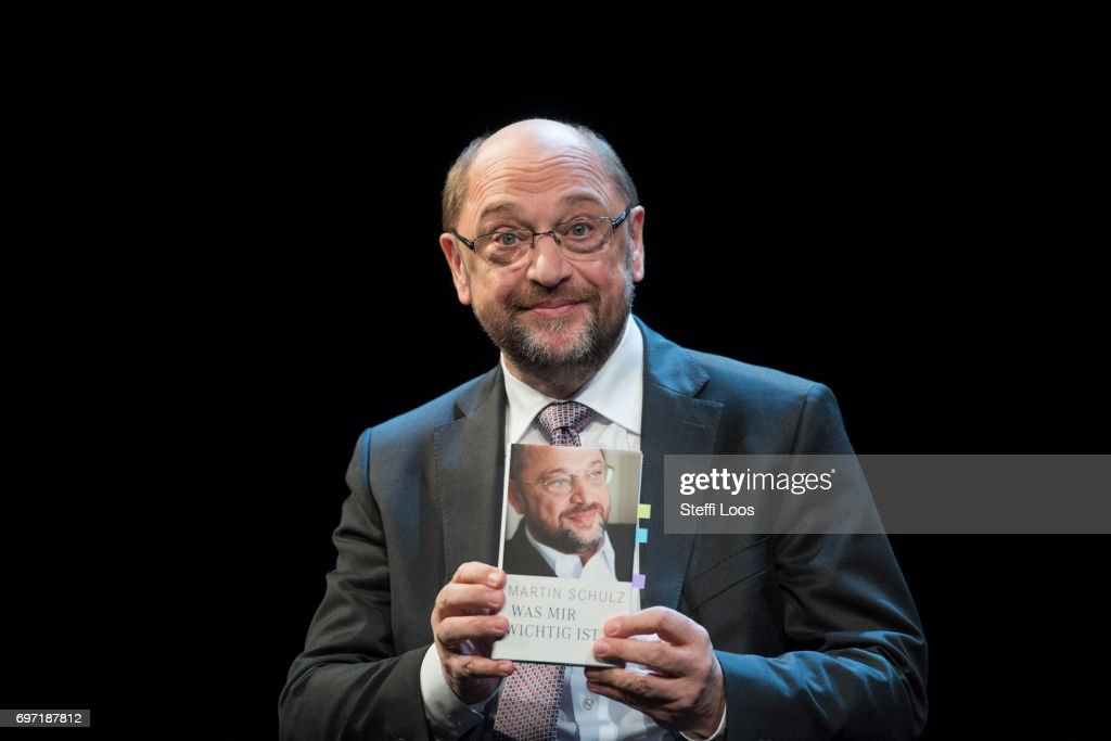 "Martin Schulz Presents Book ""What's Important To Me"""