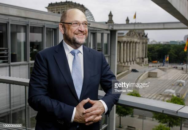Martin Schulz SPD on June 20 2018 in Berlin Germany