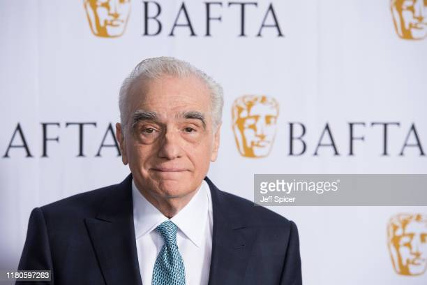 Martin Scorsese ahead of his BAFTA David Lean Lecture at The Royal Opera House on October 12, 2019 in London, England.