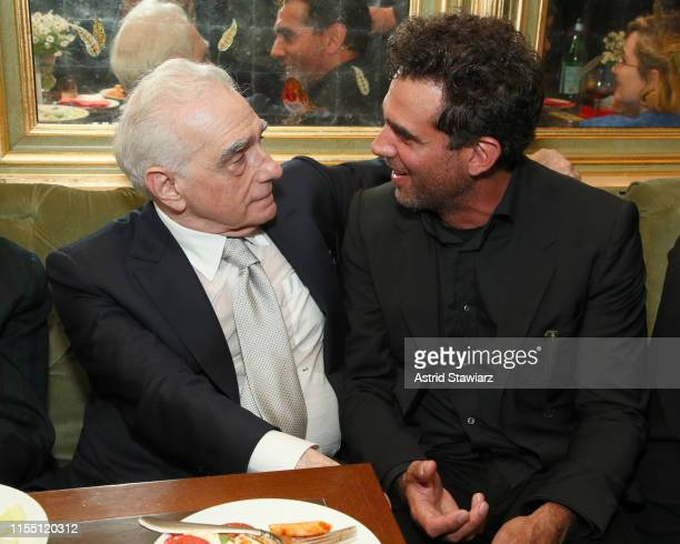 Martin Scorsese and Bobby Cannavale attend the world premiere of Netflix's ROLLING THUNDER REVUE A BOB DYLAN STORY BY MARTIN SCORSESE at Tavern on...