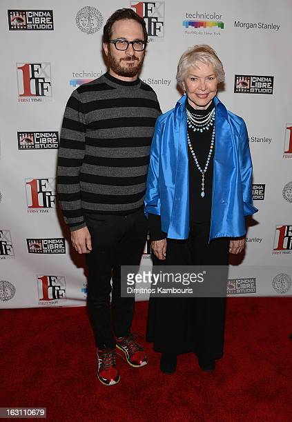 Martin Scorsese and Ellen Burnstyn attend the closing night awards during the 2013 First Time Fest at THE PLAYERS on March 4 2013 in New York City