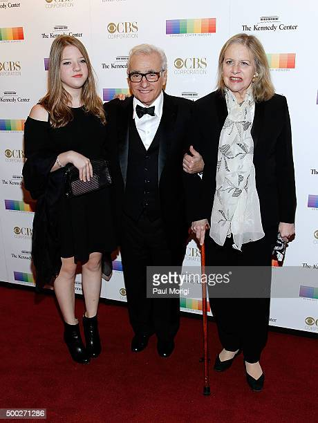 Martin Scorsese and guests attend the 38th Annual Kennedy Center Honors Gala at John F Kennedy Center for the Performing Arts on December 6 2015 in...