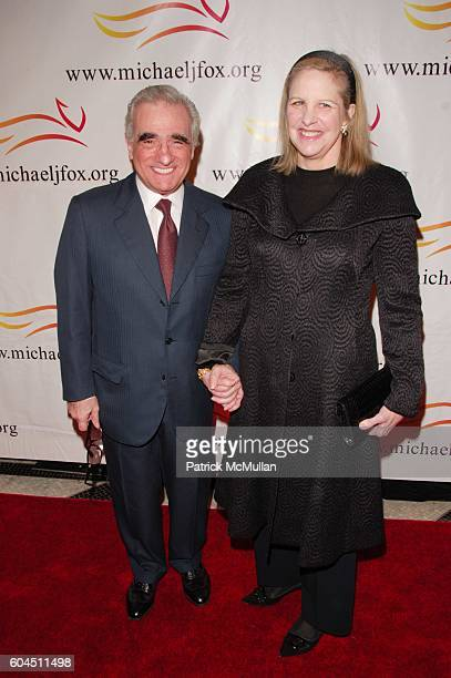 Martin Scorsese and Helen Morris attend The Michael J Fox Foundation for Parkinsonís Research annual benefit at Waldorf Astoria NYC on November 11...