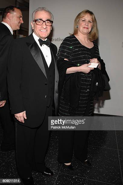 Martin Scorsese and Helen Morris attend THE MUSEUM OF MODERN ART MoMA Party in the Garden to honor Leon and Debra Black and Martin Scorsese at MoMA...