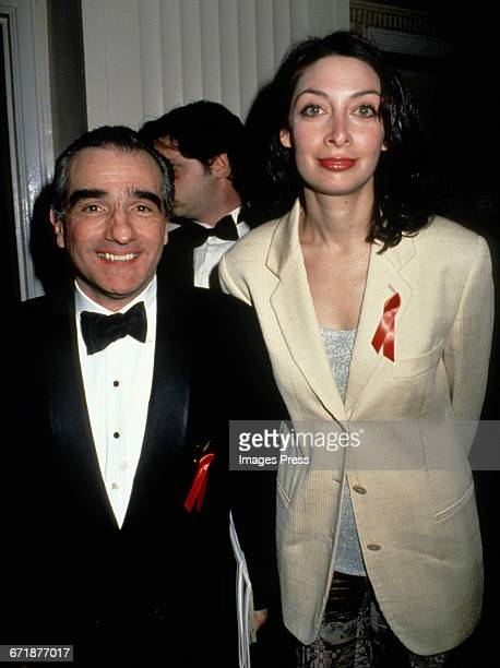 Martin Scorsese and Illeana Douglas attend the 1994 Rock and Roll Hall of Fame Induction Ceremony circa 1994 in New York City