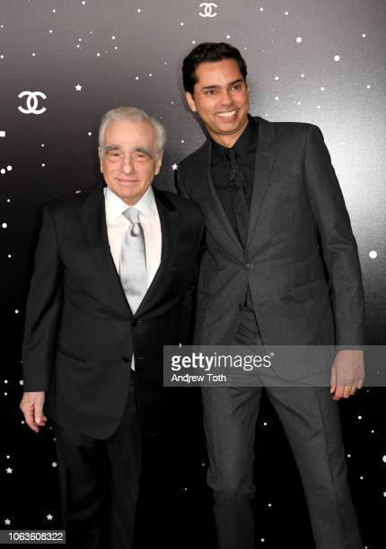 Martin Scorsese and Rajendra Roy attend The Museum Of Modern Art Film Benefit Presented By CHANEL A Tribute To Martin Scorsese on November 19 2018 in...