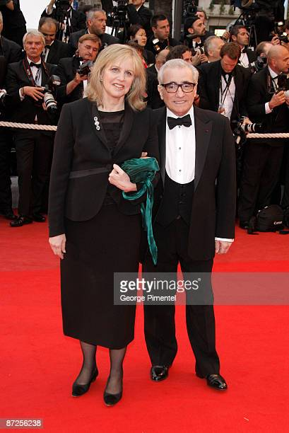 Martin Scorsese and wife Helen Morris attend the 'Bright Star' premiere at the Grand Theatre Lumiere during the 62nd Annual Cannes Film Festival on...