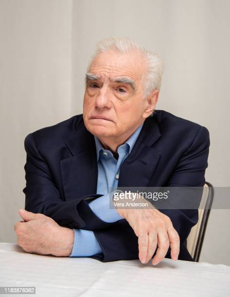 "Martin Scorsese at ""The Irishman"" Press Conference at the Four Seasons Hotel on October 25, 2019 in Beverly Hills, California."