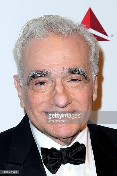 Martin Scorsese attending Friars Club Honors Martin Scorsese with Entertainment Icon Award at Cipriani Wall Street on September 21, 2016 in New York...