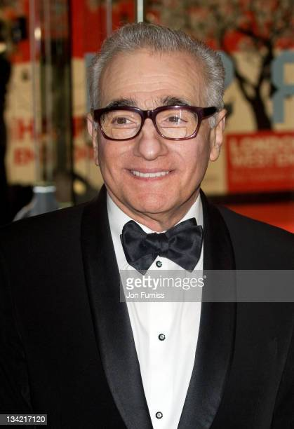 Martin Scorsese attends a Royal film performance of Hugo in 3D at The Odeon Leicester Square on November 28, 2011 in London, United Kingdom.