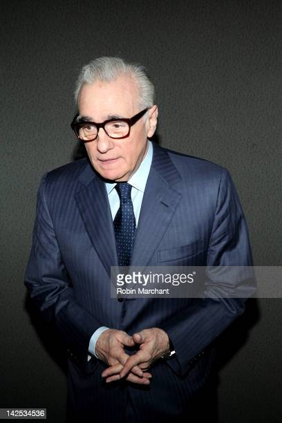 Martin Scorsese attends Surviving Progress at The Film Society of Lincoln Center on April 6 2012 in New York City