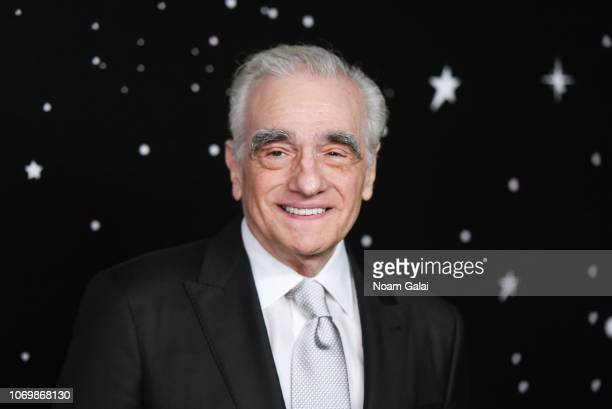 Martin Scorsese attends the 2018 Museum of Modern Art Film Benefit: A Tribute To Martin Scorsese at Museum of Modern Art on November 19, 2018 in New...