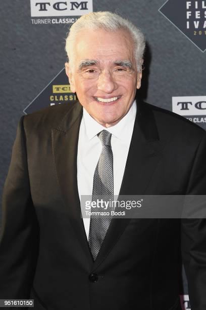 Martin Scorsese attends the 2018 TCM Classic Film Festival Opening Night Gala 50th Anniversary World Premiere Restoration Of The Producers at TCL...