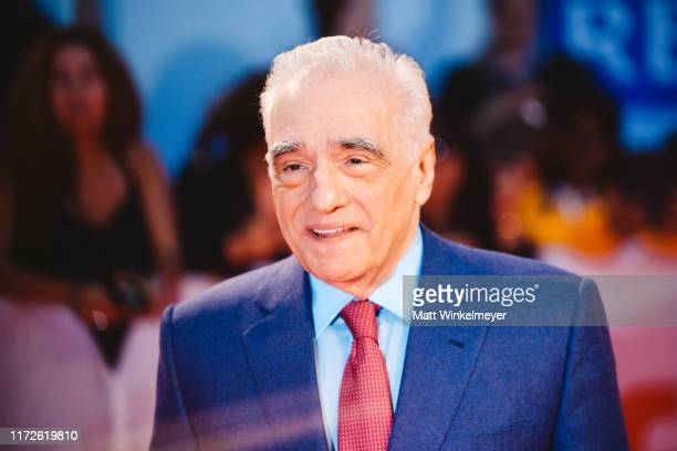 "Martin Scorsese attends the 2019 Toronto International Film Festival ""Once Were Brothers: Robbie Robertson And The Band"" premiere at Roy Thomson Hall..."