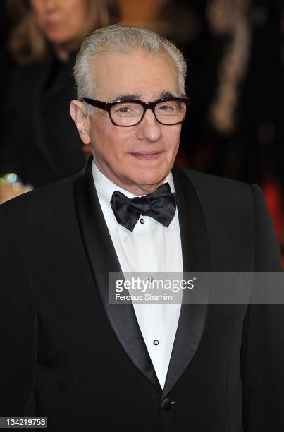 Martin Scorsese attends the 3D screening of Hugo as part of the Royal Film Performance at Odeon Leicester Square on November 28, 2011 in London,...