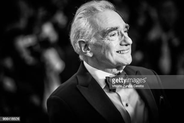 Martin Scorsese attends the 71st annual Cannes Film Festival at Palais des Festivals on May 8 2018 in Cannes France