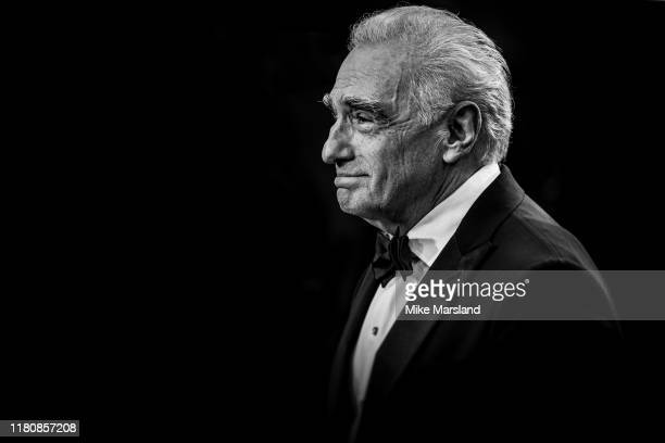 "Martin Scorsese attends ""The Irishman"" International Premiere and Closing Gala during the 63rd BFI London Film Festival at the Odeon Luxe Leicester..."