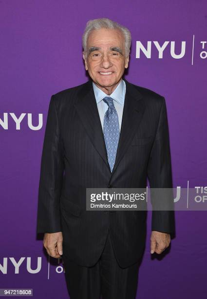 Martin Scorsese attends The New York University Tisch School Of The Arts 2018 Gala at Capitale on April 16 2018 in New York City