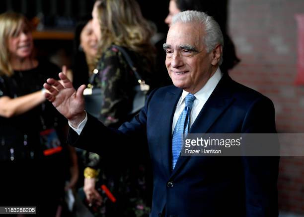 "Martin Scorsese attends the Premiere Of Netflix's ""The Irishman"" at TCL Chinese Theatre on October 24, 2019 in Hollywood, California."