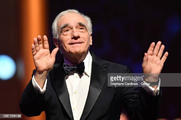 Martin Scorsese attends the Tribute to Robert De Niro during the 17th Marrakech International Film Festival on December 1, 2018 in Marrakech, Morocco.