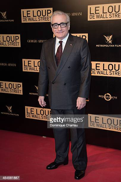 Martin Scorsese attends the' Wolf of Wall Street' Photocall At Cinema Gaumont Opera Capucines at Cinema Gaumont Opera on December 9 2013 in Paris...