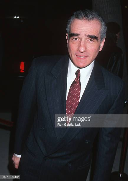 Martin Scorsese during 'Casino' Hollywood Premiere at Mann Chinese Theater in Hollywood California United States